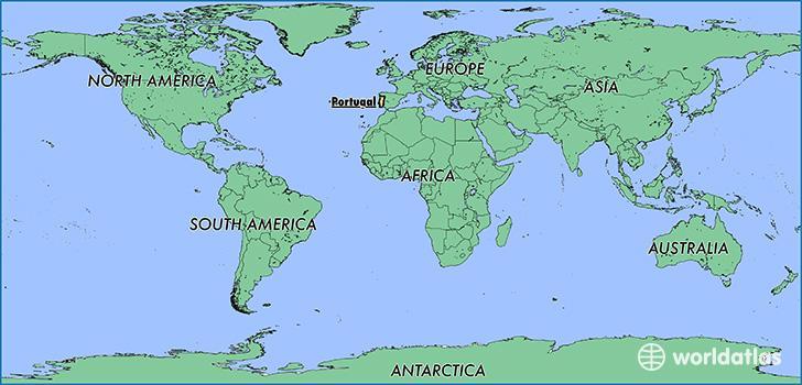 Karta Europa Portugal.Karta Svijeta Europa Karta